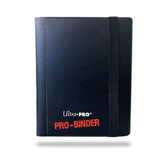 Ultra Pro - Чёрный альбом для хранения карт с листами (1*2)