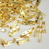 Основа для броши 20х5 мм (цвет - золото), 95-100 штук