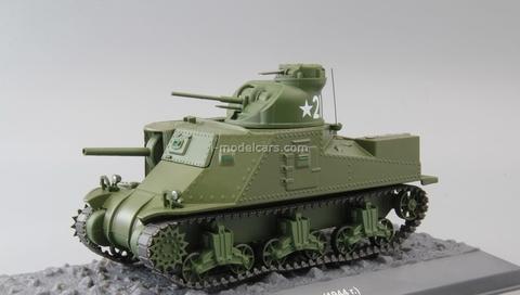 Tank M3 Lee khaki 1:43 DeAgostini Tanks. Legends World armored vehicles #14