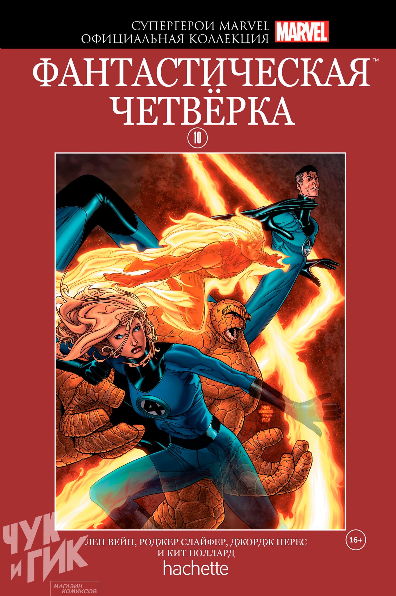Супергерои Marvel. Официальная коллекция №10. Фантастическая Четвёрка