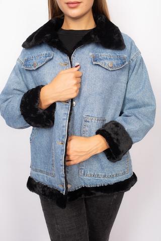 купить джинсовую женскую куртку