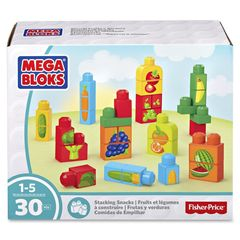 Mega Bloks First Builders Stacking Snacks Building Kit