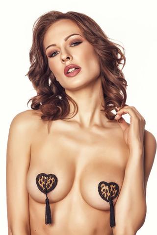 Пэстисы на соски в форме сердца