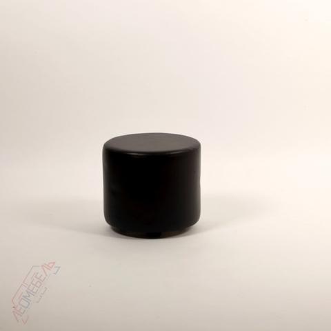 Пф-03 Пуфик круглый для магазина (черный)