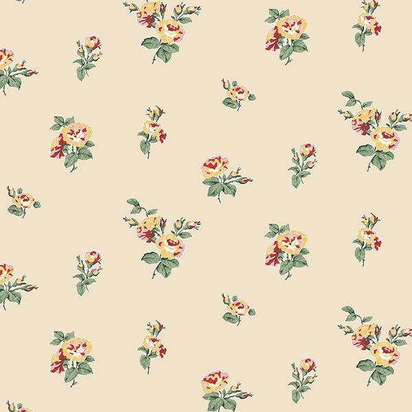 Обои Aura English Florals G34349, интернет магазин Волео