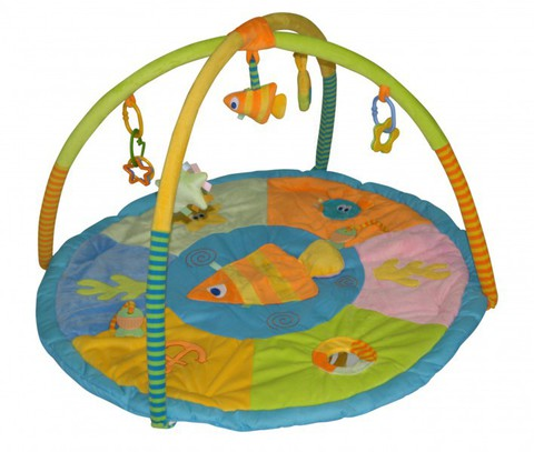 Игровой коврик для новорожденных  Lorelli Океан