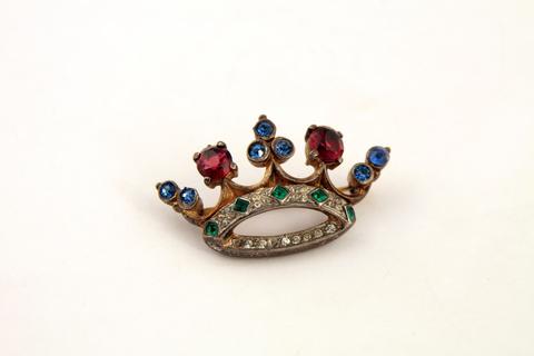 Редкая серебряная корона от Trifari