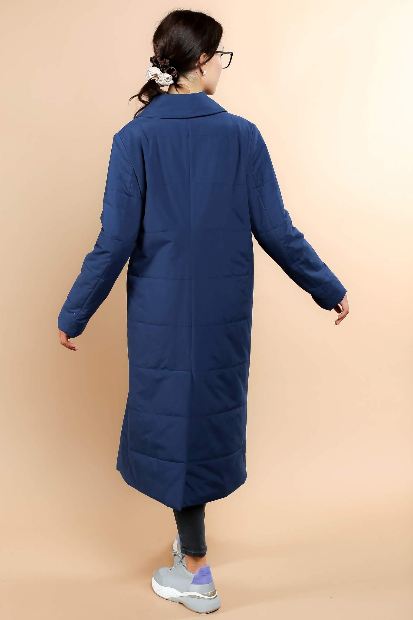 Стеганая удлиненная куртка
