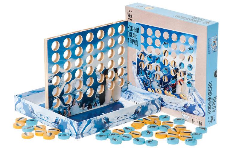 Игра в коробке 4 в ряд Южный Океан