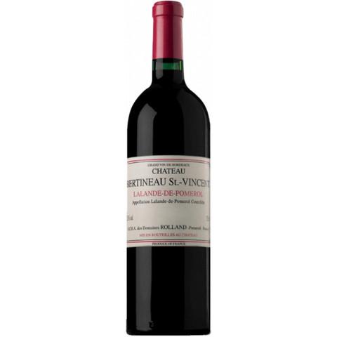 Вино Шато Бертино Сэн Вэнсан красное сух. з.н.м.п  рег.Бордо 0,75л