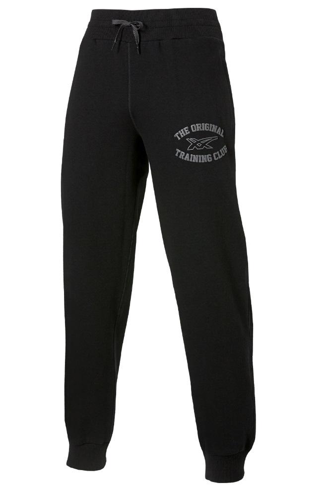 Мужские спортивные штаны Asics Graphic Brushed Cuffed Pant (127639 0904) черные