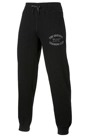 Спортивные штаны Asics Graphic Brushed Cuffed Pant мужские черные