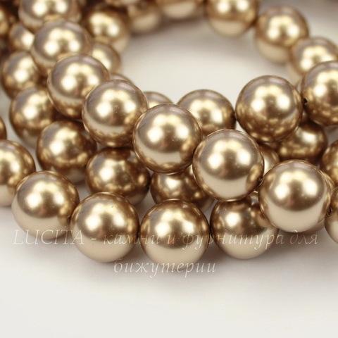 5810 Хрустальный жемчуг Сваровски Crystal Bronze круглый 12 мм