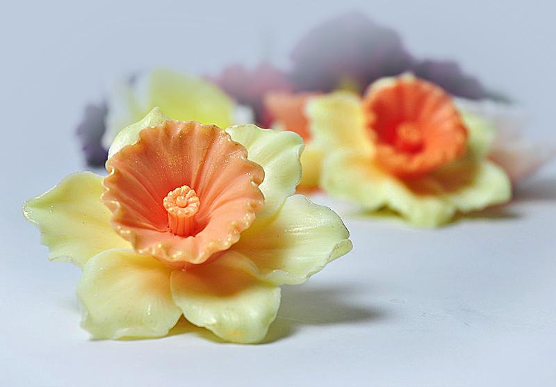 Нарцисс 3D, форма силиконовая