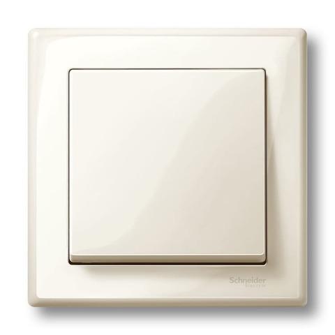 Рамка на 1 пост. Цвет Бежевый, блестящий. Merten M-smart. MTN478144