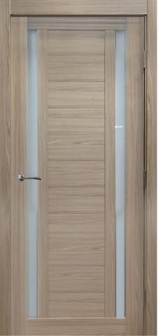 > Экошпон Profil Doors №15X-Модерн, стекло матовое, цвет капучино мелинга, остекленная