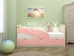 Кровать Бабочки мдф 1,6 м (Миф)