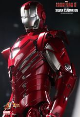 Iron Man 3 - Mark XXXIII Silver Centurion Figure