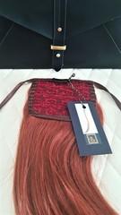 Накладной хвост оттенок 1005-огненный рыжий-40 см длина