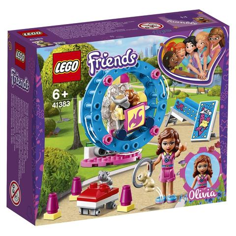 LEGO Friends: Игровая площадка для хомячка Оливии 41383 — Olivia's Hamster Playground — Лего Френдз Друзья Подружки