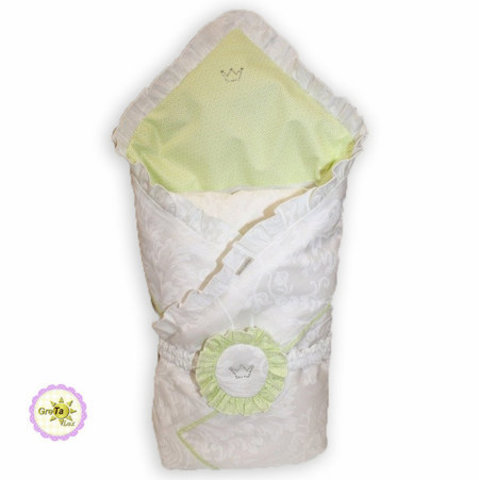 Анжелика плед-конверт салатовый