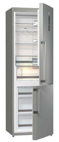 Двухкамерный холодильник Gorenje NRC6192TX