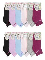326 носки женские цветные 36-42 (12шт)