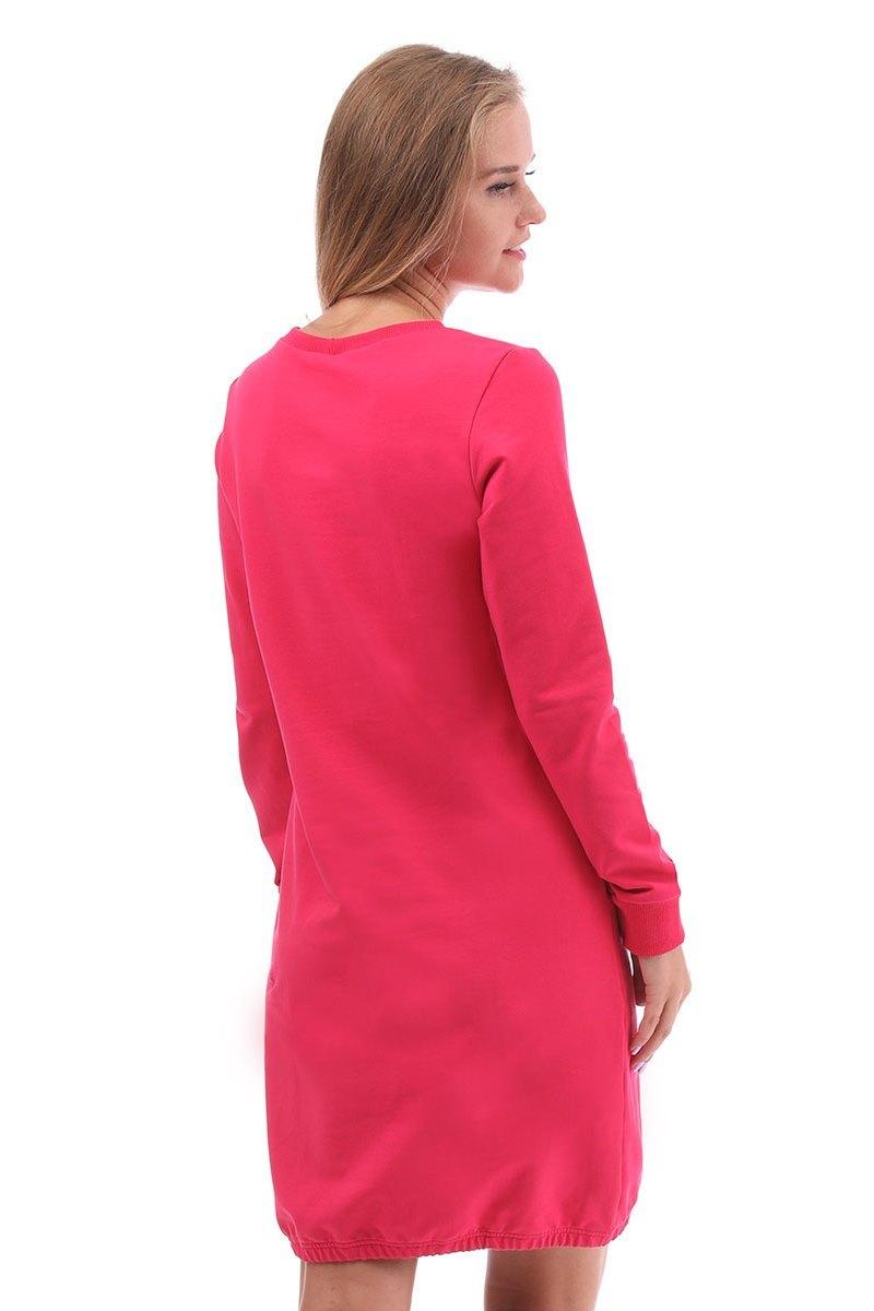Платье 09958 малиновый