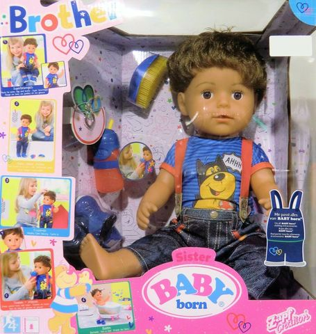 Кукла Zapf Baby Born  Brother 825-365