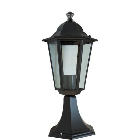Светильник садово-парковый, 60W 230V E27 черный, 6104 (Feron)