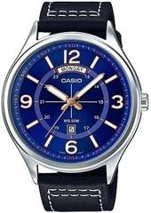 Мужские японские наручные часы Casio MTP-E129L-2B1