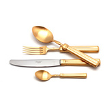 Набор матовый 130 пр FONTAINEBLEAU GOLD, артикул 9162-130, производитель - Cutipol