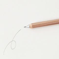 Механический карандаш 0,5 мм Muji Wooden Mechanical Pencil Mini