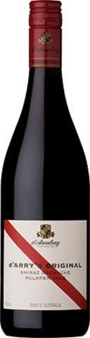 Вино  д'Арри' с Ориджинал кр.сух. з.г.у.рег.МакЛарен Вейл выдержанное 0,75л