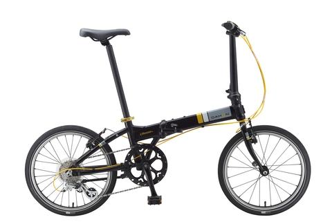 Dahon Vitesse D8 (2015) черный с желтым