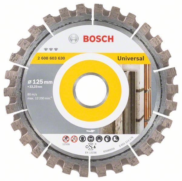 Алмазный диск Best for Universal 125-22,23 Bosch 2608603630