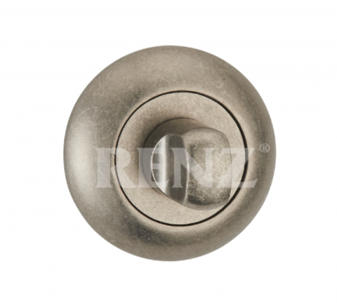 Фурнитура - Завёртка К Ручкам  Renz BK 08, цвет бронза античная