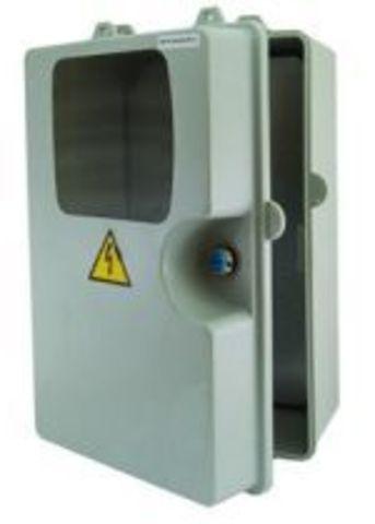 ЩУ-П-1ф/3ф (360х225х155) пластик, монтажная панель IP54 TDM