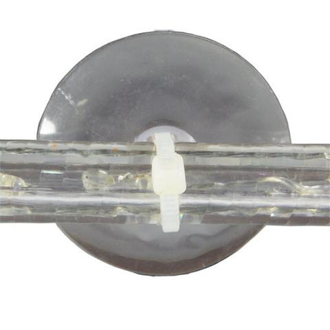 Присоска с хомутом для крепления и монтажа светодиодного шнура ленты шланга дюралайт LED