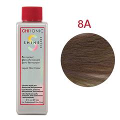 CHI Ionic Shine Shades Liquid Color 8A (Средне-пепельный блондин) - Жидкая краска для волос
