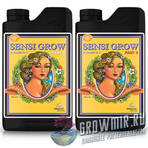 Advanced Nutrients pH Perfect Sensi Grow Parts A & B (0.5л)