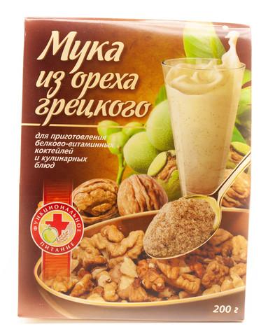 Мука грецкого ореха, 200 гр