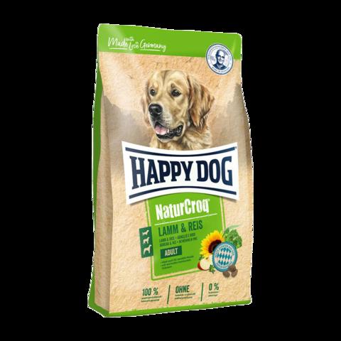 Happy Dog NaturCroq Сухой корм для собак с ягненком и рисом