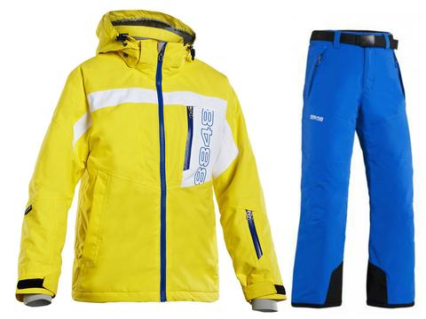 Детский горнолыжный костюм 8848 Altitude Coy/Inca yellow
