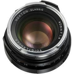 Объектив Voigtlander Nokton Classic 40mm f/1.4 MC Lens