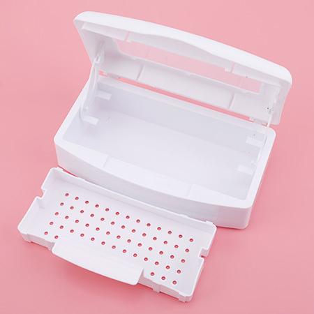 Patrisa Nail, Контейнер для дезинфекции инструментов, пластиковый, прозрачная крышка (фото 3)