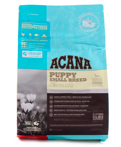 Acana Heritage Puppy Small Breed сухой корм для щенков мелких пород 340 г