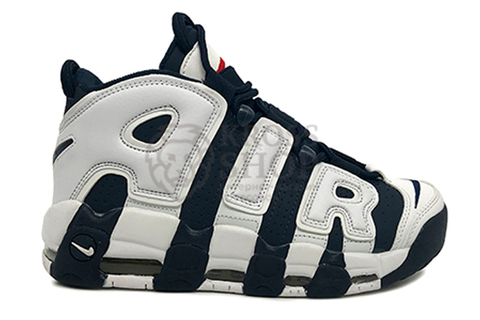 Nike Women's Air More Uptempo Black/White