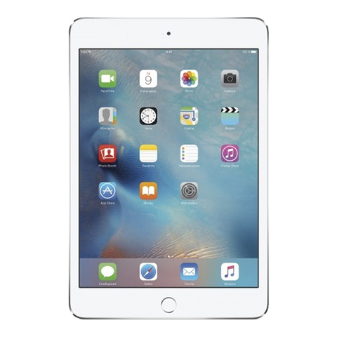 iPad mini 4 Wi-Fi + Cellular 128Gb Silver - Серебристый