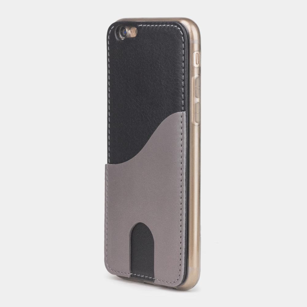 Чехол-накладка Andre для iPhone 6/6S из натуральной кожи теленка, черного цвета